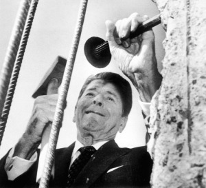 Ronald Reagan- working
