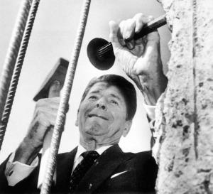 Ronald Reagan- working
